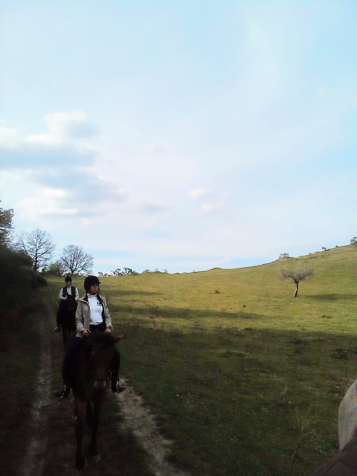 Bganoreggio passeggiata cavallo
